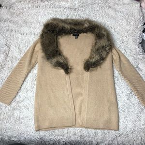 Plus Size Fur Cardigan!